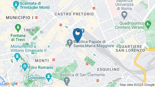 Hotel Romantica Map