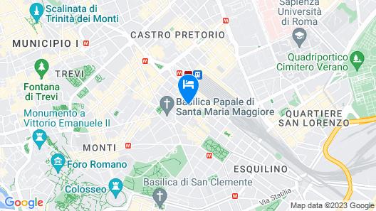 Hotel Maryelen Map