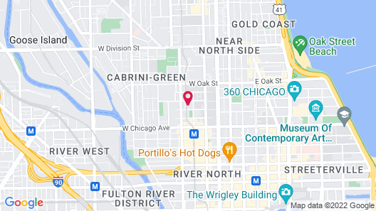 The Chicago Hotel Collection - River North/Mag Mile Map