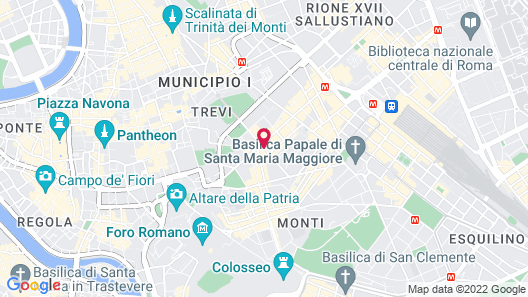 Rome Times Hotel Map