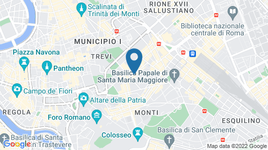 Rome Life Hotel Map