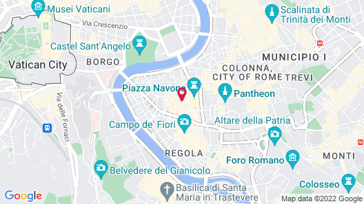 Hotel Teatro Pace Map