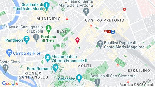 iH Hotels Roma Dei Borgia Map