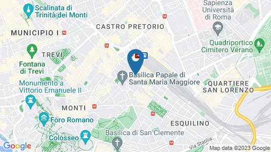 Champagne Palace Hotel Map