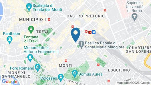 DoubleTree by Hilton Rome Monti Map
