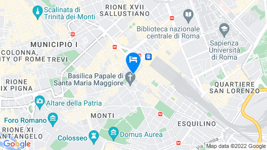 Daniele Manin Guesthouse Map