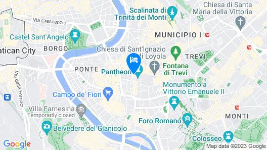 Delsi Suites Pantheon Map