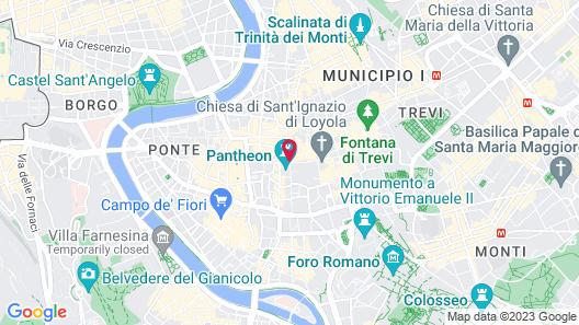 Best Suites Pantheon Map
