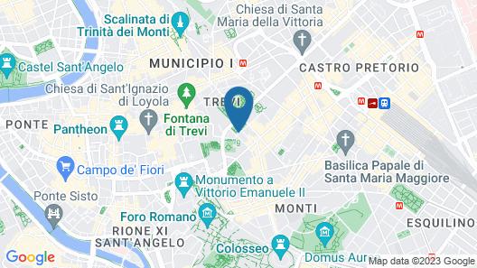 Villa Spalletti Trivelli Map