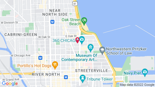 Four Seasons Hotel Chicago Map