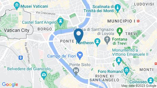 La Mongolfiera Rooms Map