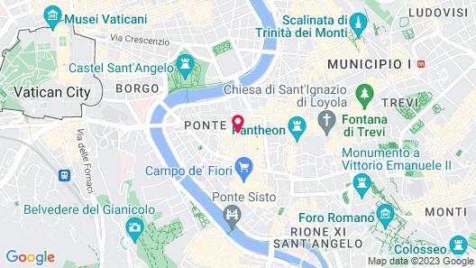 Navona Palace Luxury Inn Map