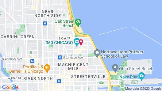 Hilton Chicago/Magnificent Mile Suites Map