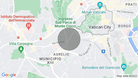 Vatican Central Guest House Map