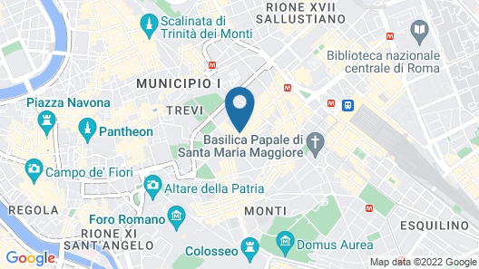 Hotel Giolli Nazionale Map