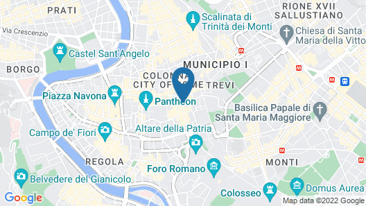 I Tre Moschettieri Map