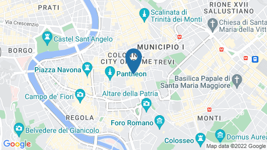Hotel Caravita Map