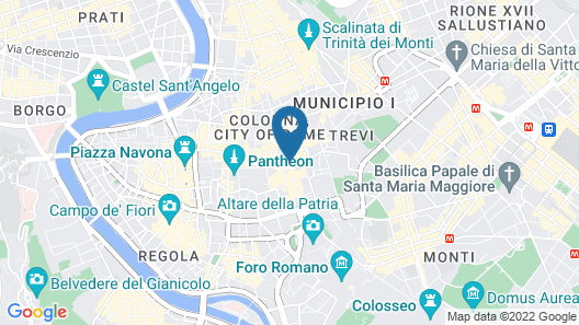 La Papessa Map