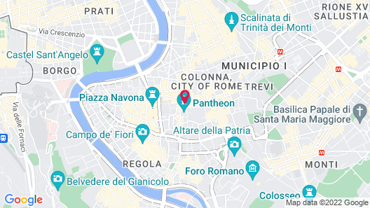 Hotel Abruzzi Map