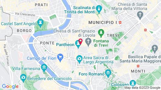 Hotel Pantheon Map