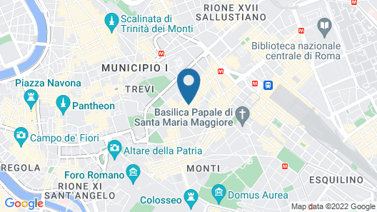 Boutique Hotel Galatea Map
