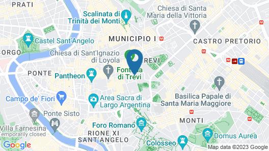 Trevi Rome Suite Map