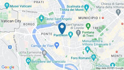 Navona Suites Map