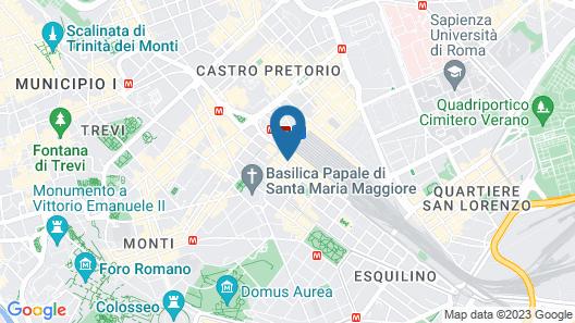 Gioberti Hotel Map