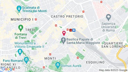 Hotel Genova Map