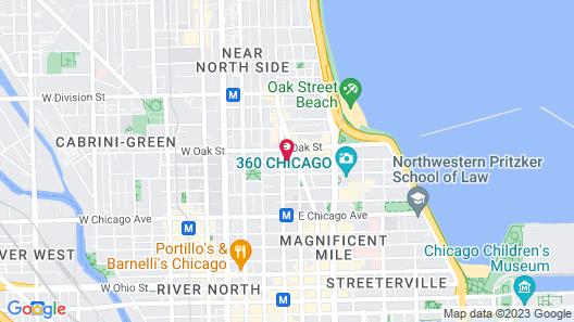 Waldorf Astoria Chicago Map