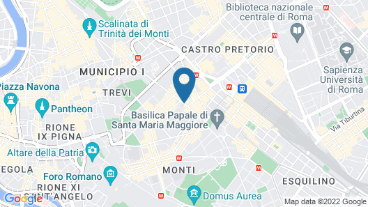 Viminale View Hotel Map