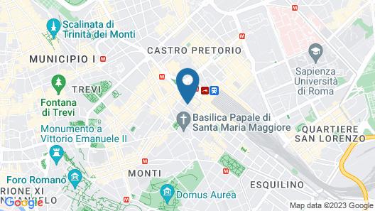 Bettoja Atlantico Hotel Map