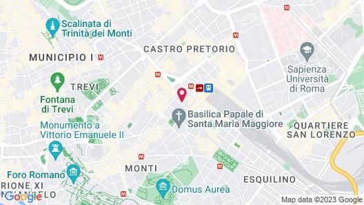 Bettoja Hotel Mediterraneo Map