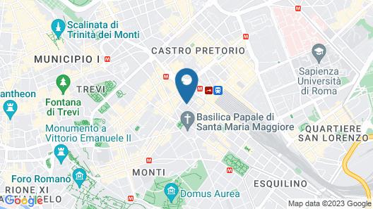 Hotel Altavilla Map