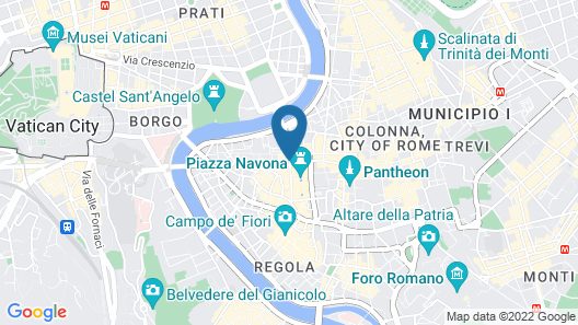 Bio Hotel Raphaël-Relais & Châteaux Map