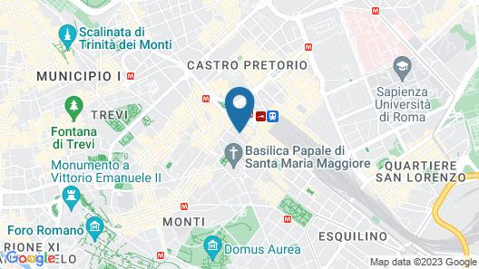 Bettoja Hotel Massimo D'Azeglio Map