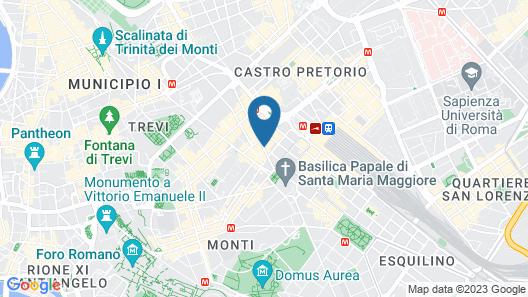 Hotel Rex Map