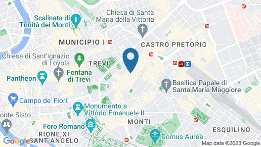 Exe International Palace Map