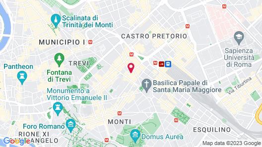 Demetra Hotel Map
