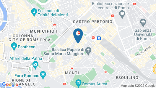 Hotel Lirico Map