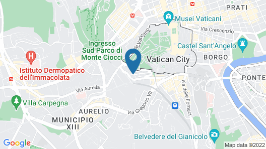 Vatican Suites Hotel & Residence Map