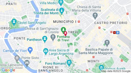 Hotel Trevi Map