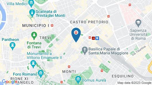 Al Viminale Hill Inn & Hotel Map