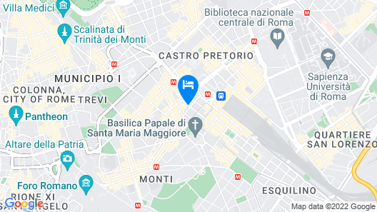 Best Western Plus Hotel Universo Map