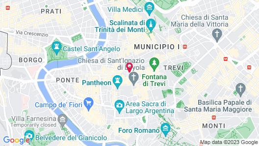 Colonna Palace Hotel Map