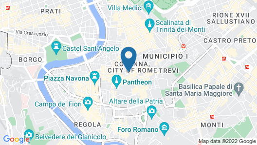 Colonna Palace Hotel Map