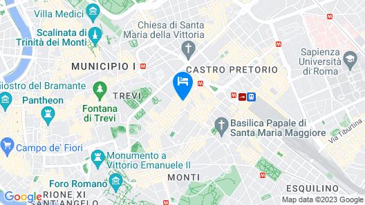 Hotel Artemide Map