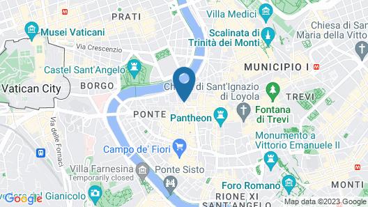 Hotel Genio Map
