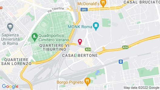 Dodo Holiday in Rome Map