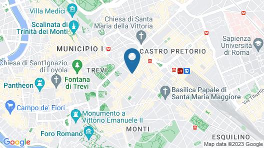 Hotel Zara Map